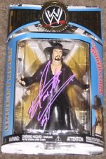 SIGNED UNDERTAKER LJN VARIANT WWE WWF CLASSIC SUPERSTAR FIGURE SERIES 13 RARE!