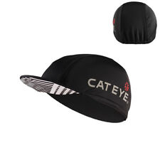 CATEYE Outdoor Sport Cycling Anti-sweat Sun Cap Breathable Hat Black One Size