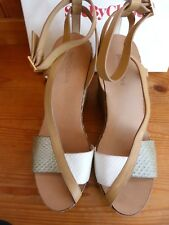 NEW SEE BY CHLOE COLOURED WEDGE SHOES / SANDALS...UK 8   EU 41