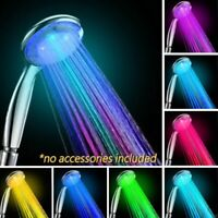 Colorful Head Home Bathroom 7 Colors Changing LED Shower Water Glow Light