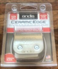 """Andis CeramicEdge Pet Clipper Blade Size 4FC 2951 3/8"""" 9.5mm length Brand New"""