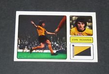 284 RICHARDS WOLVERHAMPTON WANDERERS WOLVES FKS FOOTBALL 1973-74 ENGLAND PANINI