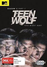 Teen Wolf : Season 3 : Part 1 (DVD, 2014, 3-Disc Set)