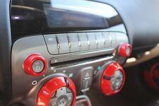 2010-2014 Chevrolet Camaro Billet Radio Knob Covers Orange