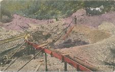 Australia * Alluvial Gold Mine ca. 1908 * Prospector Mining