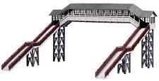 FALLER HO scale ~ PREMIUM COVERED FOOTBRIDGE ~ plastic model kitset #120198