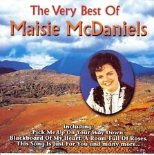 Maisie McDaniels - Very Best of CD Irish Showband Legend Rare CD