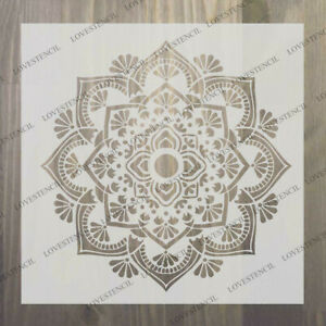 mandala stencils CHOOSE DESIGN craft,fabric,glass,furniture,wall art