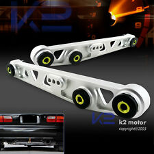 For Civic Del Sol CRX Integra Aluminum Racing Rear Lower Control Arms