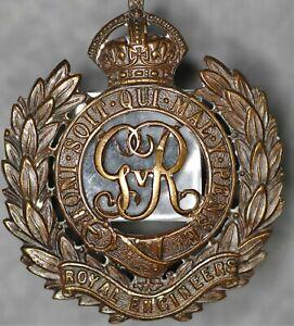WW1 Royal Engineers cap badge. J & Co