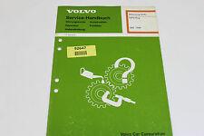 Volvo 960 1996 Sips bag Service Handbuch Werkstatthandbuch Repair Manual