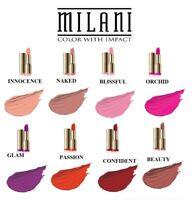 MILANI STATEMENT MOISTURE MATTE LIP COLOR LIPSTICK - All Shades