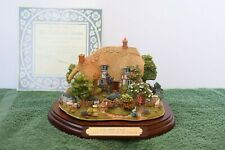 "Lilliput Lane Cottages L2410 ""Enchanted Garden"" Mint in original box with Coa."
