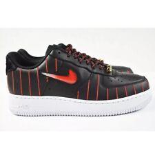 Nike Air Force 1 Jewel QS Chicago Shoes CU6359-001 Pinstripe Womens 9 Mens 7.5