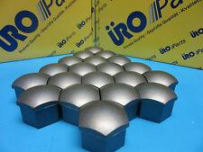 Set of 20 Wheel Lug Nut Covers Cap Replace VW Audi OEM# 321601173A01C Satin Grey