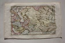 Russia Tartaria Georgia Armenia map, Bonne 18th century