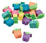 Pack of 24 - Mini Pineapple Erasers Rubbers - Teacher Rewards