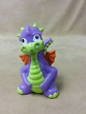 Fisher Price LITTLE PEOPLE Dragon Purple Orange Wings 2009 Kingdom Castle Part