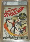 AMAZING SPIDERMAN #1 PGX 8.0 NOT CGC SIGNED STAN LEE WHITE PAGES MARCH 1963 (SA)