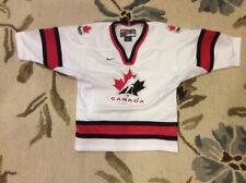 TEAM CANADA 1998 Olympic Hockey SEWN Jersey Youth Boys Size 5