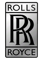 Rolls Royce motor logo coche chapa boton Badge pin imperdible 58 mm