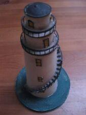 phare en métal / tôle / bateau / maritime / décoration / décor / modélisme