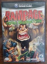 Rampage: Total Destruction (Nintendo GameCube, 2006) Wii COMPATIBLE