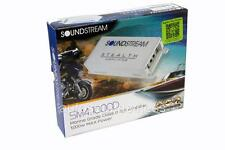 Soundstream SM4.1000D 1000 Watts Compact 4-Channel Marine Boat Audio Amplifier