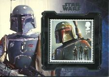 Star Wars Masterwork 2016 Silver Royal Mail Stamp Card [50] Boba Fett