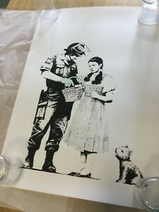 Banksy Stop And Search Dorothy West Country Prince Print Un Signed xx/500 [NEW]
