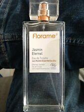 Neuf Parfum Florame Bio jasmin éternel  100 ml