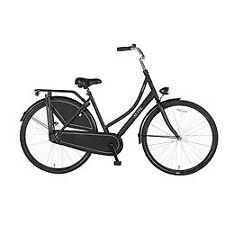 """28 Zoll 28"""" Damen Holland City Fahrrad Damenrad Cityrad Cityfahrrad Hollandrad Roma schwarz"""