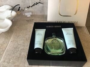 Acqua Di Gioia Gift Set ED Parfum Spray Giorgio Armani 100ml Shower Gel & Lotion