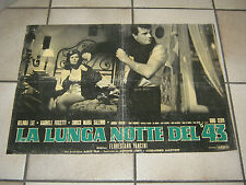 FOTOBUSTA LA LUNGA NOTTE DEL '43,VANCINI,BELINDA LEE,CERVI,FERRARA,RSI,FASCISMO