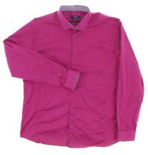 Stone Rose Red Rivet Collection Solid Dark Pink/Purple Shirt size 5 (Fits L)
