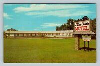 Gap PA, Stage Creek Motel, Chrome Pennsylvania Postcard