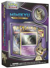 POKEMON TCG Mimikyu Pin Collection Box Set Trading Card Game Promo (Aus Stock)