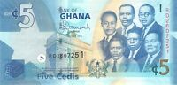 Ghana 5 Cedis 2015 P38f - Free to Combine Low Shipping