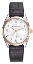 Pierre Cardin PC107862F03 Damen Bicolor Armband Uhr Leder braun neu