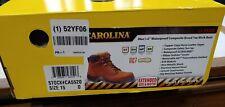 Carolina Steel Tor Work Boots Size 15 D