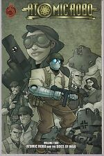 ATOMIC ROBO VOL 2 DOGS OF WAR RED 5 COMICS 2009 SC GN TPB WWII ROBOT ACTION NEW