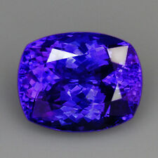 VVS 9CT 100% Natural Unheated AAAAA Violet Blue Tanzanite D'Block QTEg32