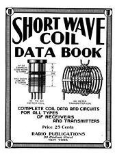 Shortwave Coil Data Book - Vintage Radio Info - CD