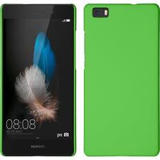Huawei P8 Lite estuche hardcover goma verde protector de pantalla