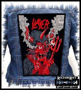 SLAYER - Burning Devil --- Backpatch Back Patch /thrash metal Metallica Megadeth