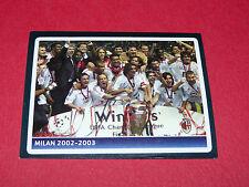 381 MILAN AC 2002-2003 UEFA PANINI FOOTBALL CHAMPIONS LEAGUE 2006 2007