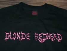 BLONDE REDHEAD T-Shirt XL NEW Band