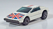 "Hot Wheels Royal Flash Lotus Esprit 2.75"" Scale Model British Flag White"