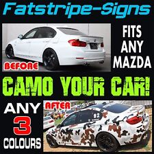 Mazda 3 graphiques Camo Stickers Decals camouflage rayures 1.6 2.0 2.2 Pro Turbo