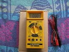 BK PRECISION  MULTIMETER 388HD WITH TEST LOAD USED IN GOOD CONDITION